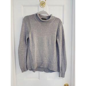 J. Crew Cotton Roll-Neck Sweater